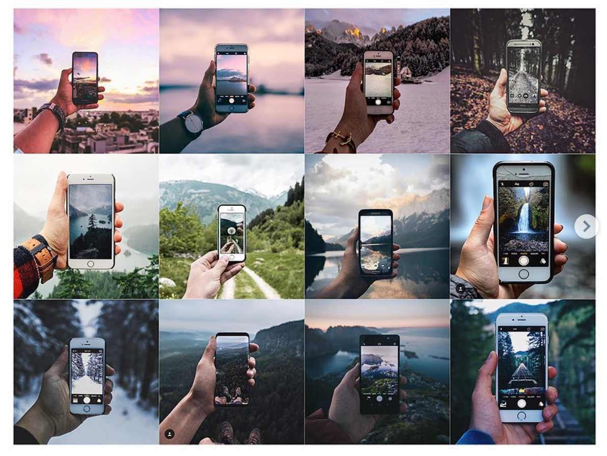Auf Instagram gibt es nur noch die gleichen Bilder zu sehen Insta-Repeat_08