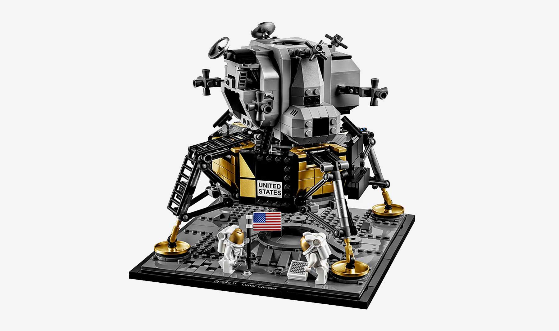 "LEGO feiert 50 Jahre Mondlandung mit dem Set ""NASA Apollo 11 Mondlandefähre"""