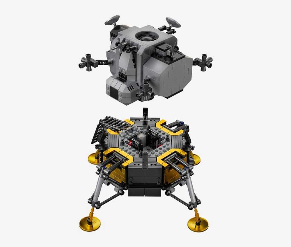 "LEGO feiert 50 Jahre Mondlandung mit dem Set ""NASA Apollo 11 Mondlandefähre"" LEGO-Mondlandung-set_03"