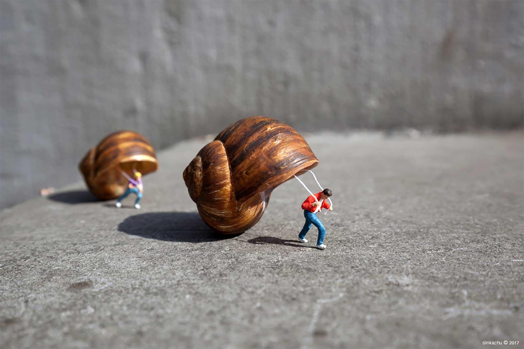 Neue Miniatur-Szenerien von Slinkachu Slinkachu-miniaturszenerien-2019_11