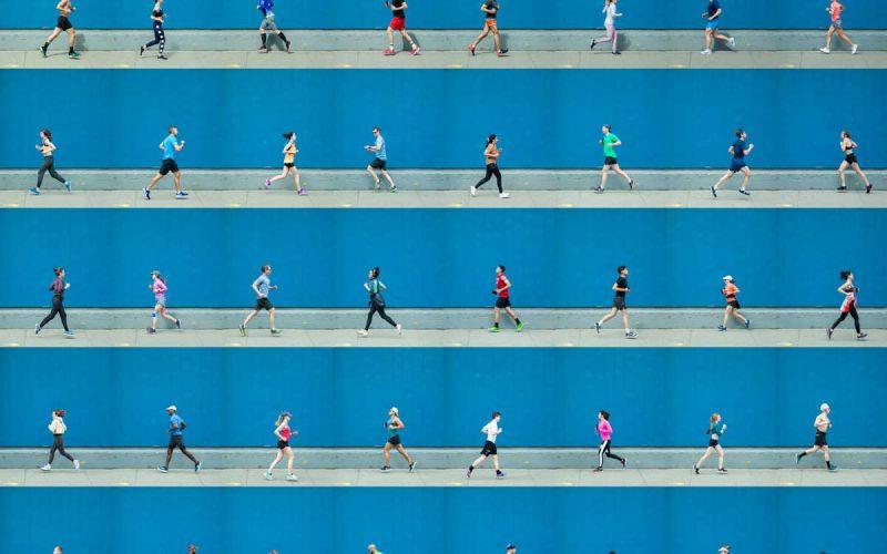 Foto-Collagen von Xan Padrón