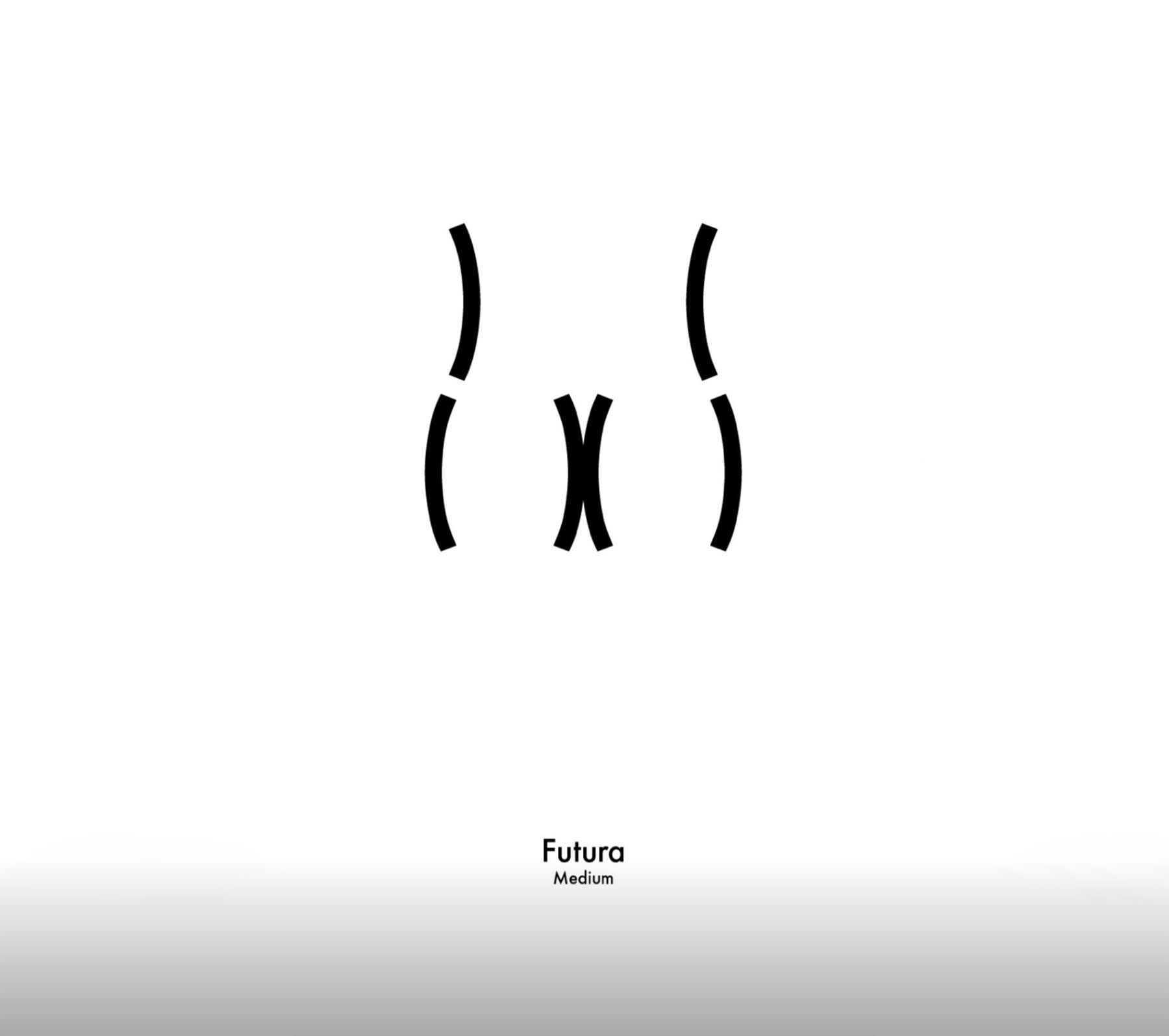 Zeichen-Hintern in unterschiedlichen Schriftarten Viktor-Hertz-butt-types_11