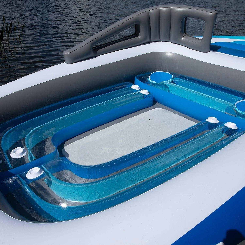 Aufblasbares Sportboot als chillige Badeinsel aufblasbares-sportboot-badeinsel_05