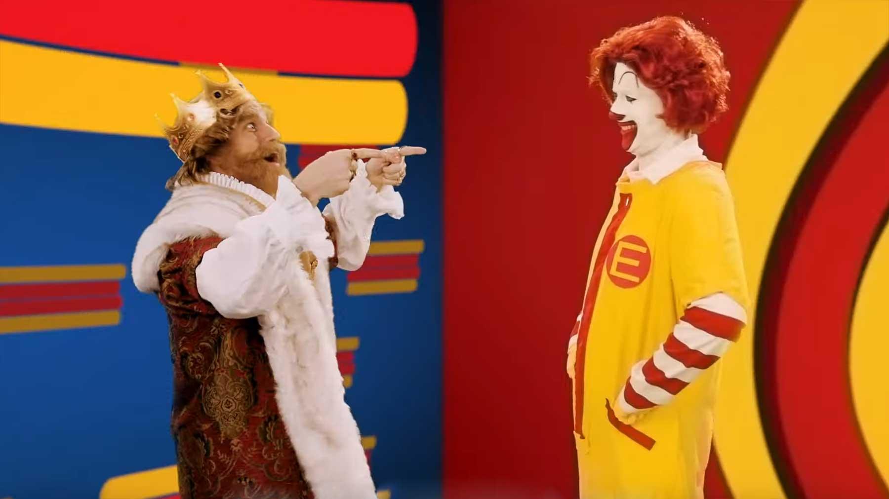 Epic Rap Battle: Ronald McDonald vs The Burger King burger-king-vs-ronald-mcdonald-rap-battle