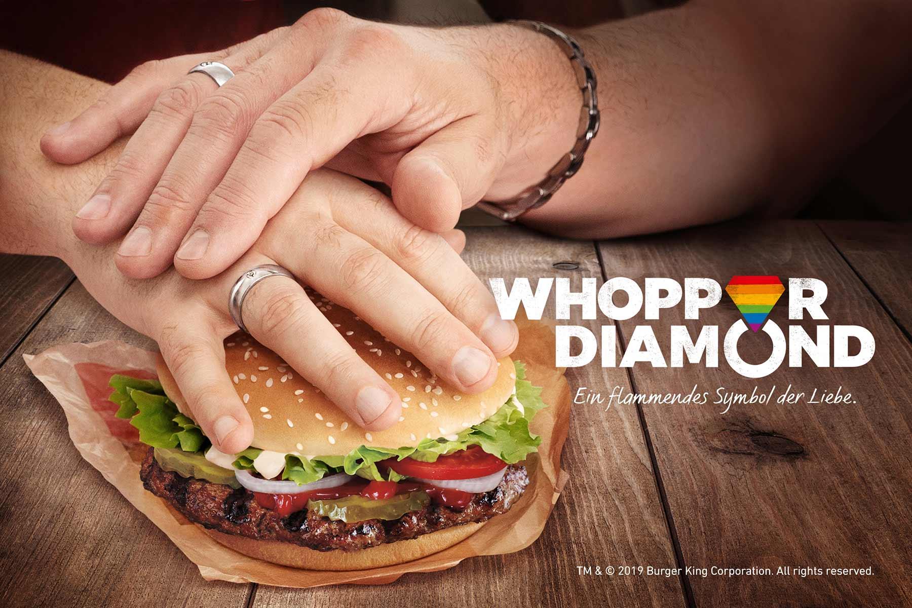 Burger King feiert Liebe in all ihren Fassetten mit Diamanten aus Whopper-Kohle burgerking_Whopper_Diamond_02