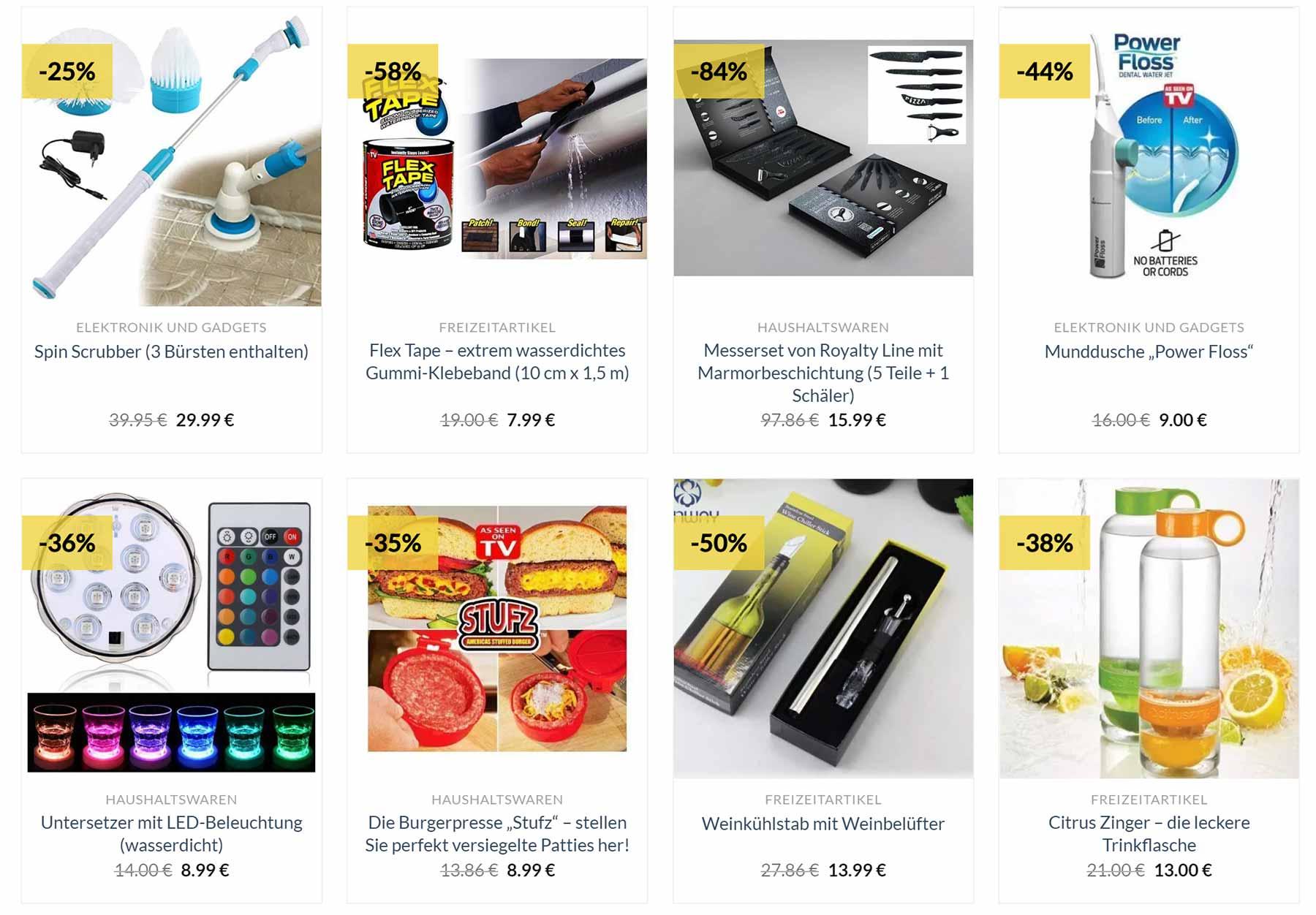Kurzweilige Haushaltswaren online bei CheapCharly kaufen cheapcharly-haushaltswaren_02
