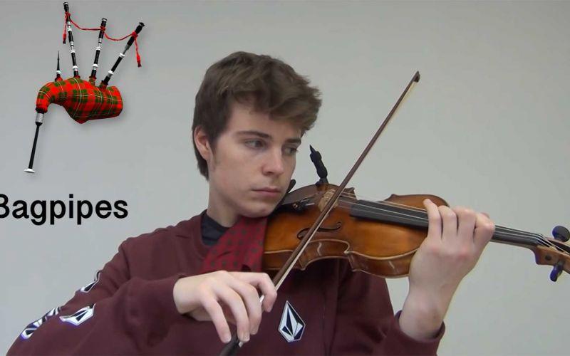 Eine Violine wie andere Instrumente klingen lassen