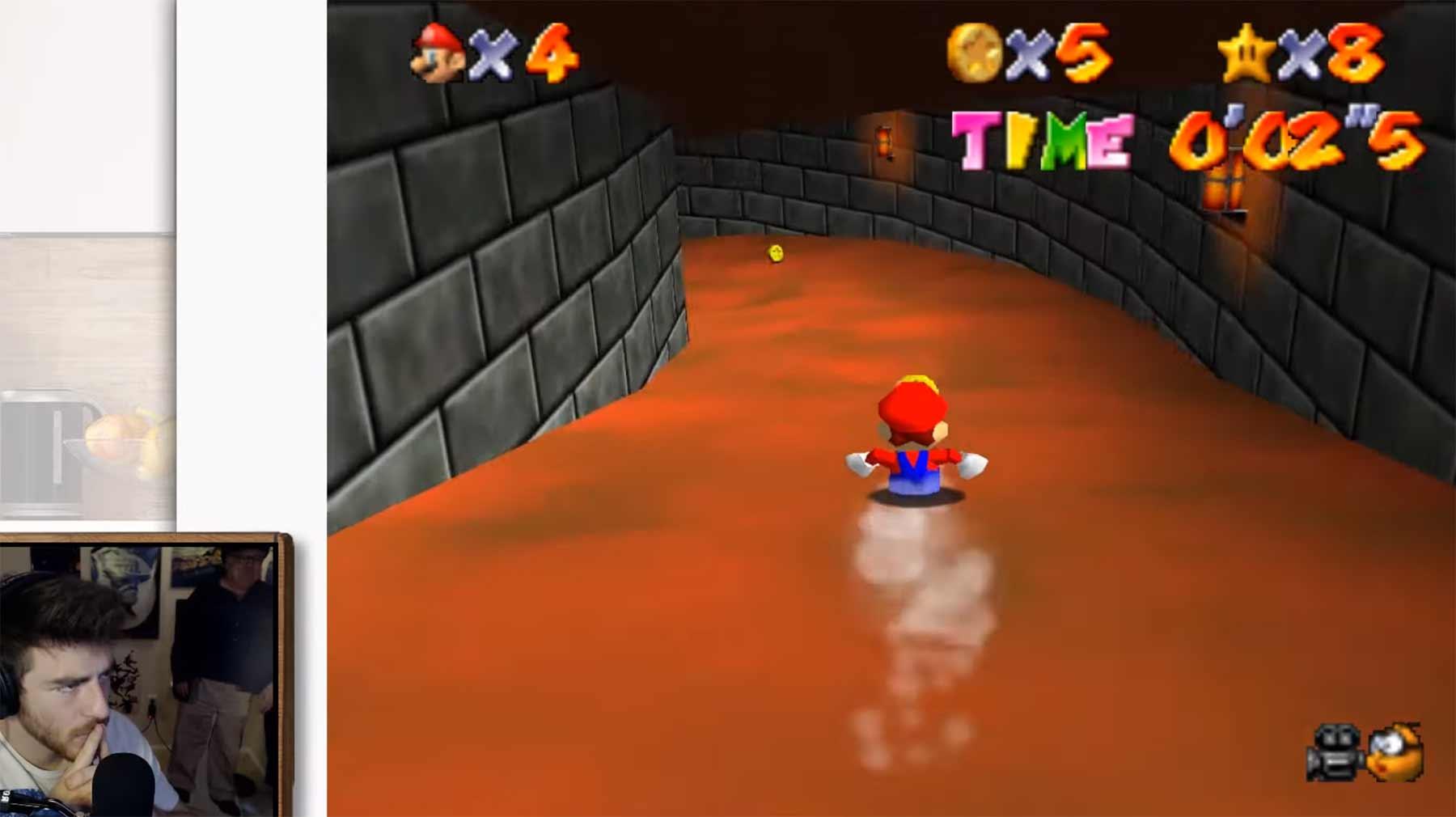 """Kann man """"Super Mario 64"""" nur mit Sprachbefehlen spielen?"""
