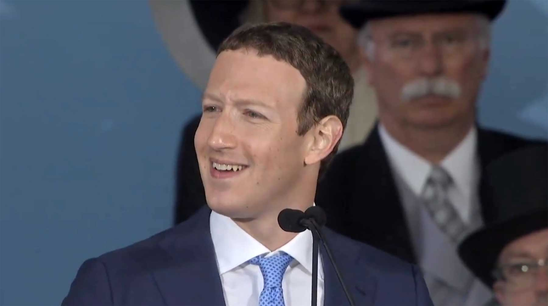 """Order of Magnitude"" ist ein sehr seltsamer Mark Zuckerberg-Supercut"
