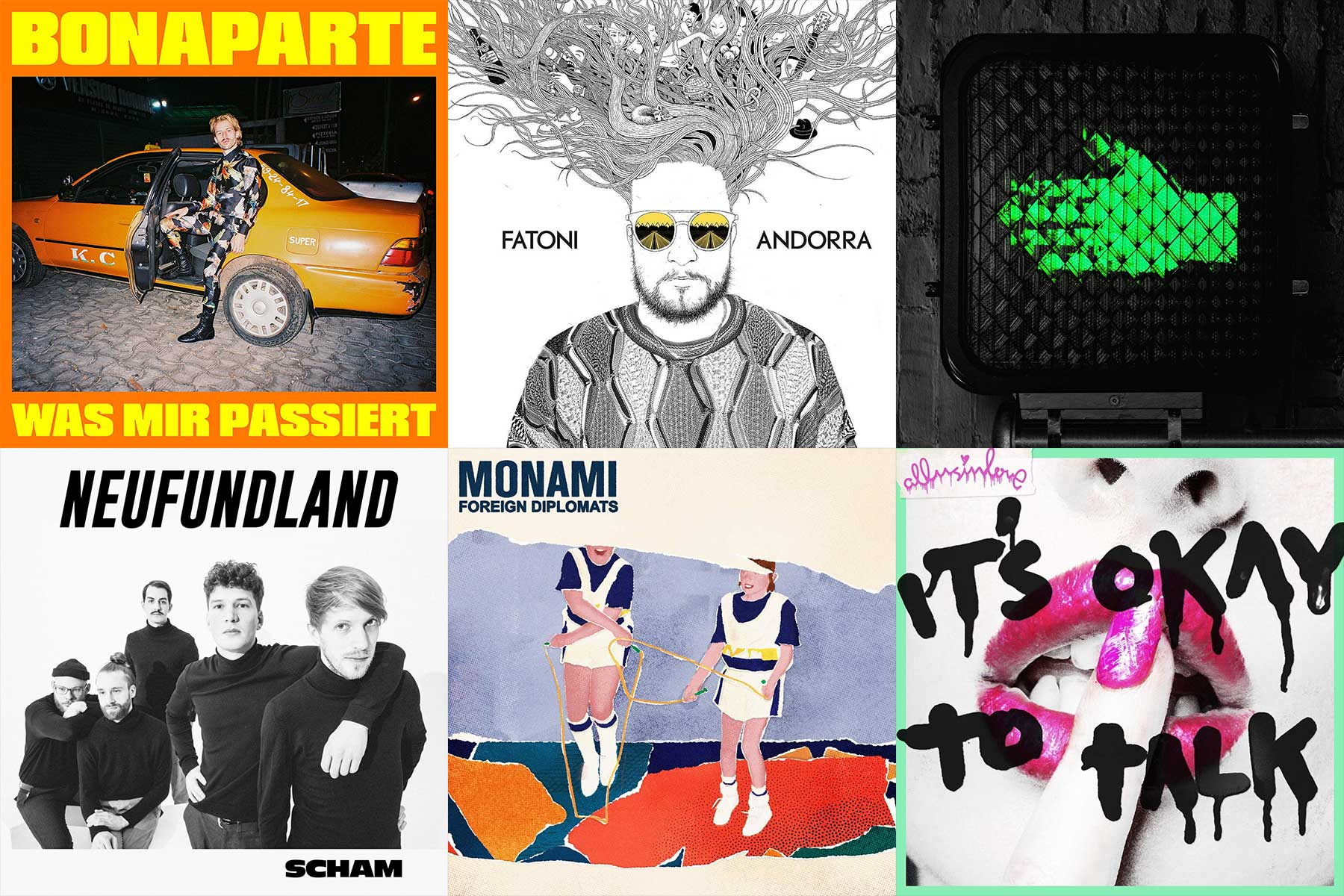 Kurzreviews: Neue Musikalben im Juni 2019