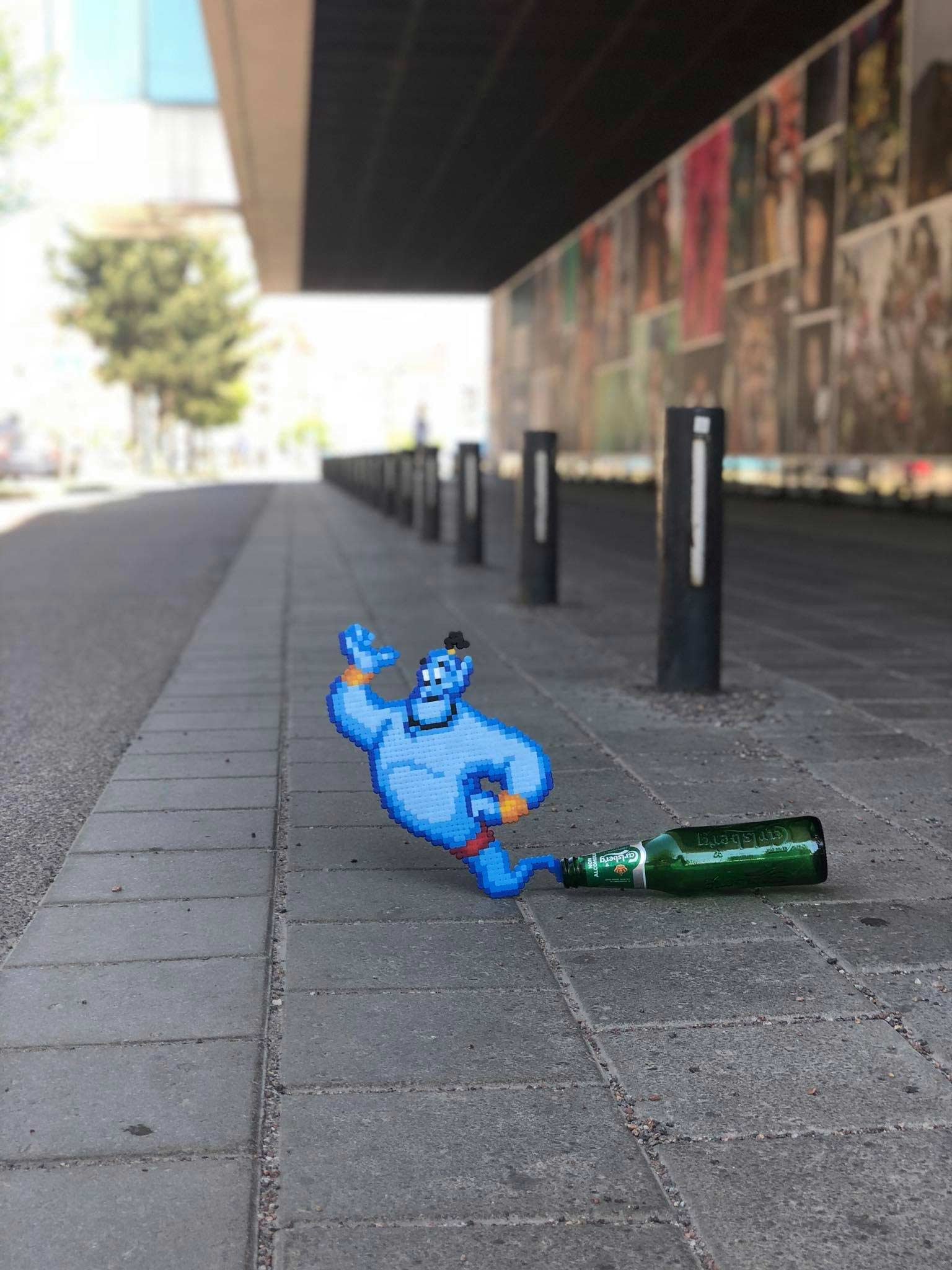 Bügelperlen-Street Art von Pappas Pärlor pappas-parlor_03