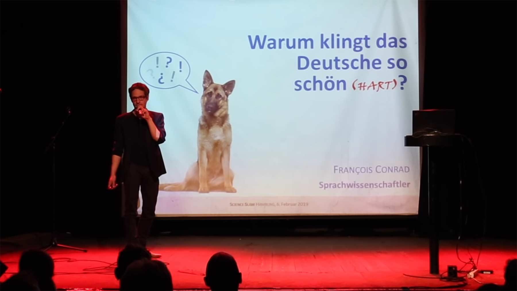 Weshalb klingt die deutsche Sprache so schön (hart)? science-slam-warum-klingt-das-deutsche-so-schoen-hart