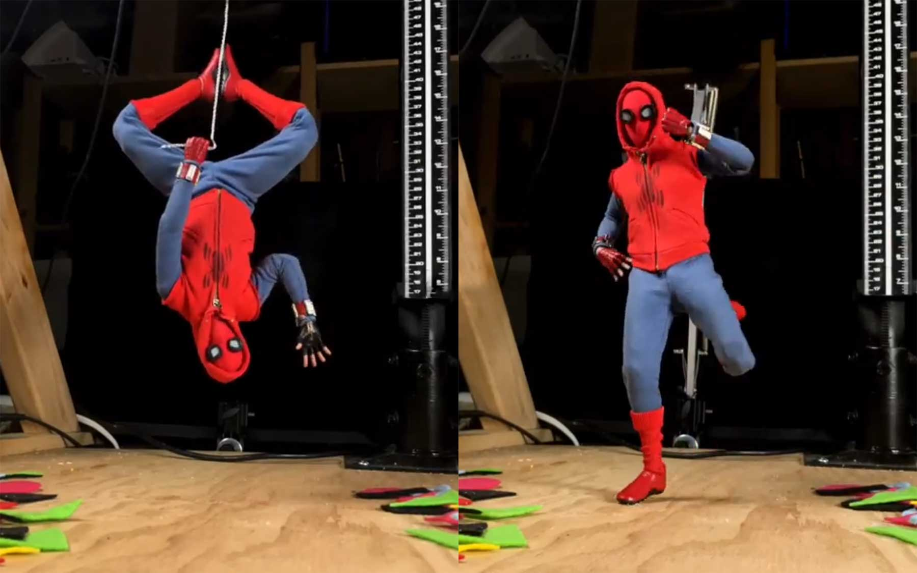 Spider-Man Stopmotion-Dance
