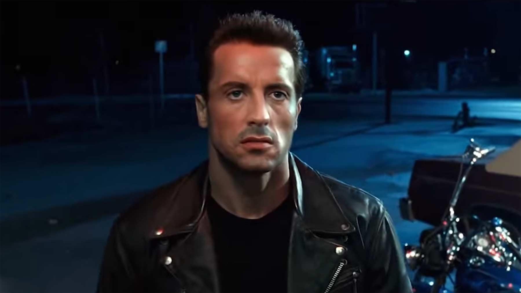 """""""Terminator 2"""", aber mit Sylvester Stallone anstelle Arnold Schwarzeneggers"""