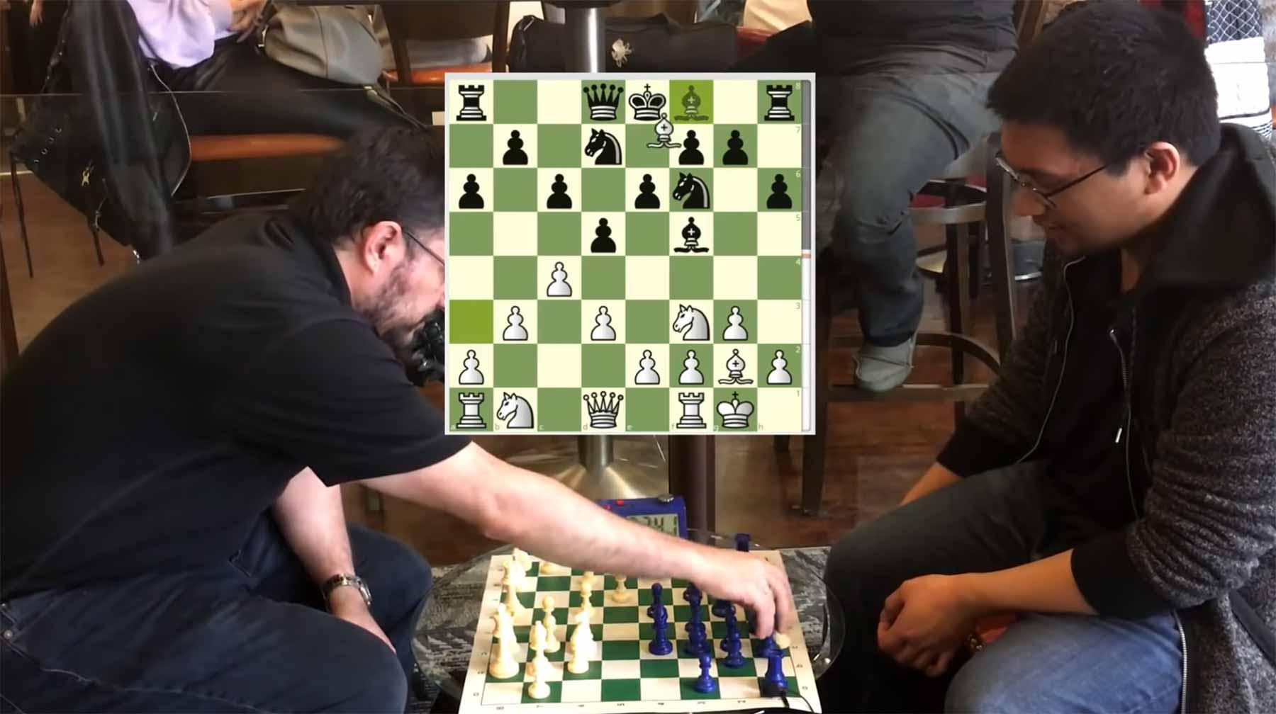 2 Schachmeister geben jeweils vor, Anfänger zu sein