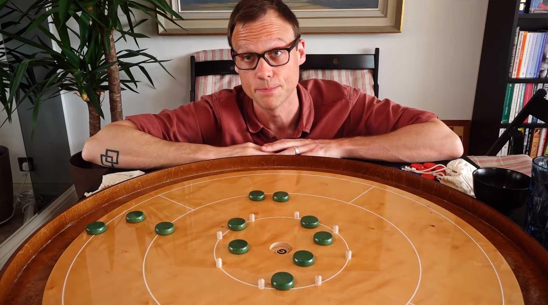 """Weshalb """"Crokinole"""" so ein tolles Spiel ist Crokinole-brettspiel-test"""