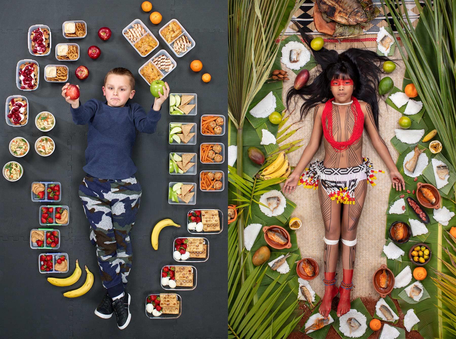 Was Kinder binnen einer Woche essen