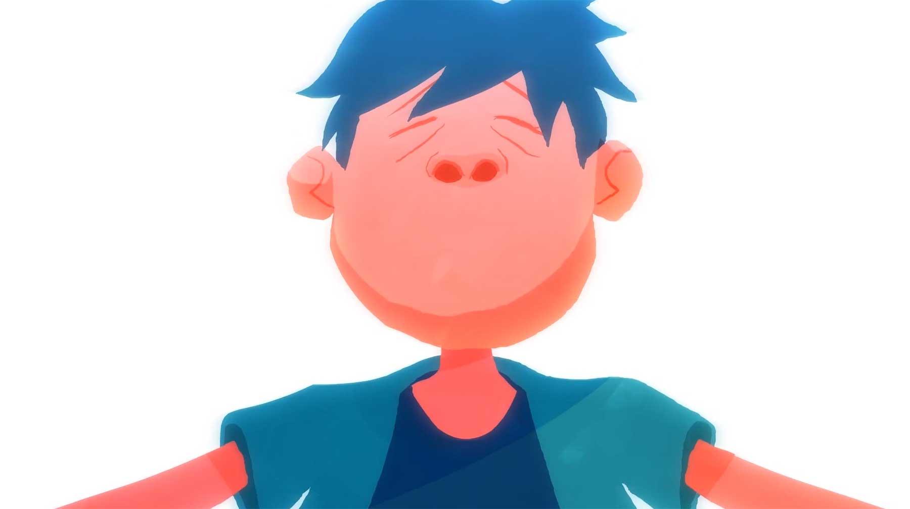 Das animierte Leben zweier Nasenlöcher