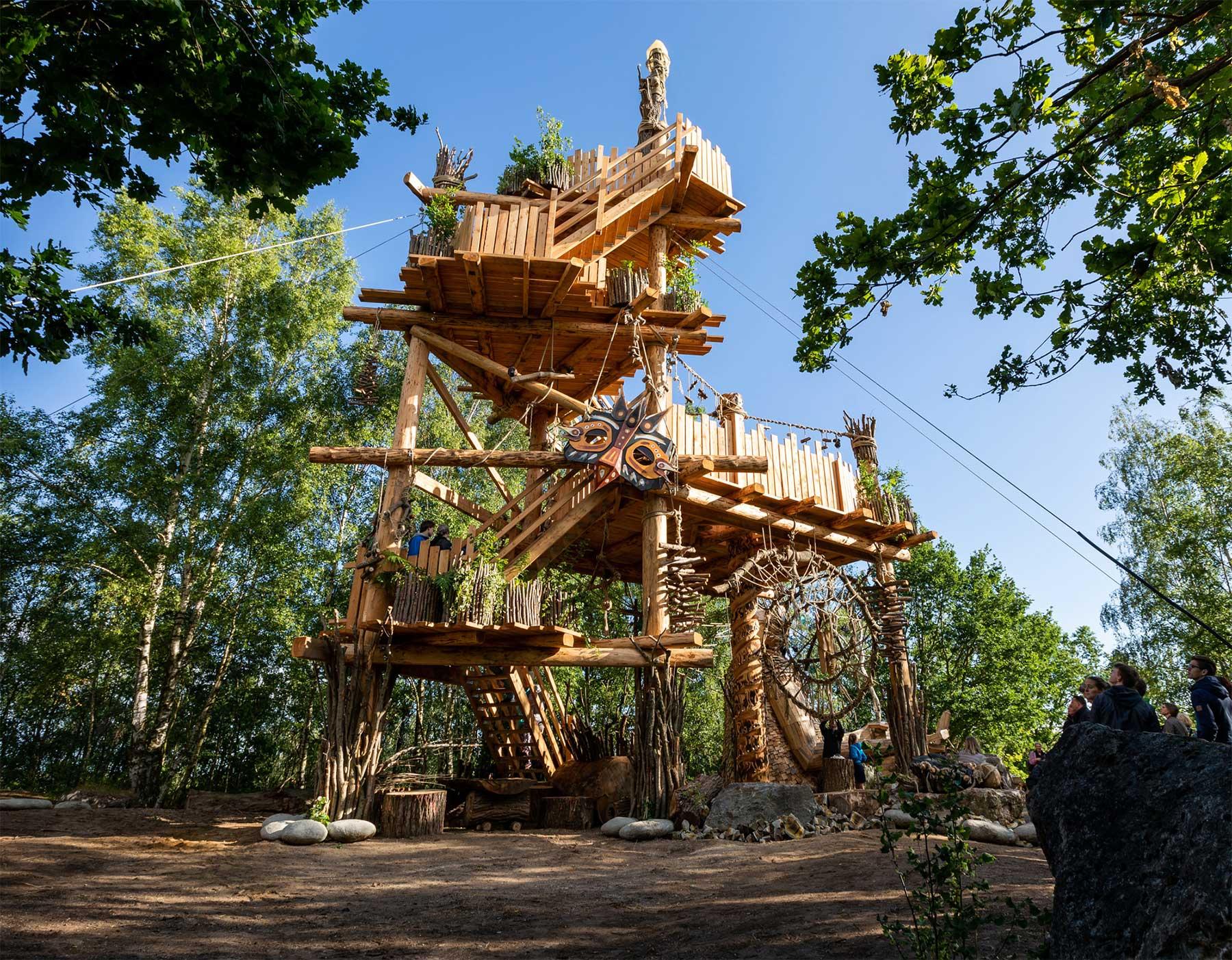 Fantastische Holzmonster im belgischen Wald Thomas-Dambo-belgien-holzriesen_05