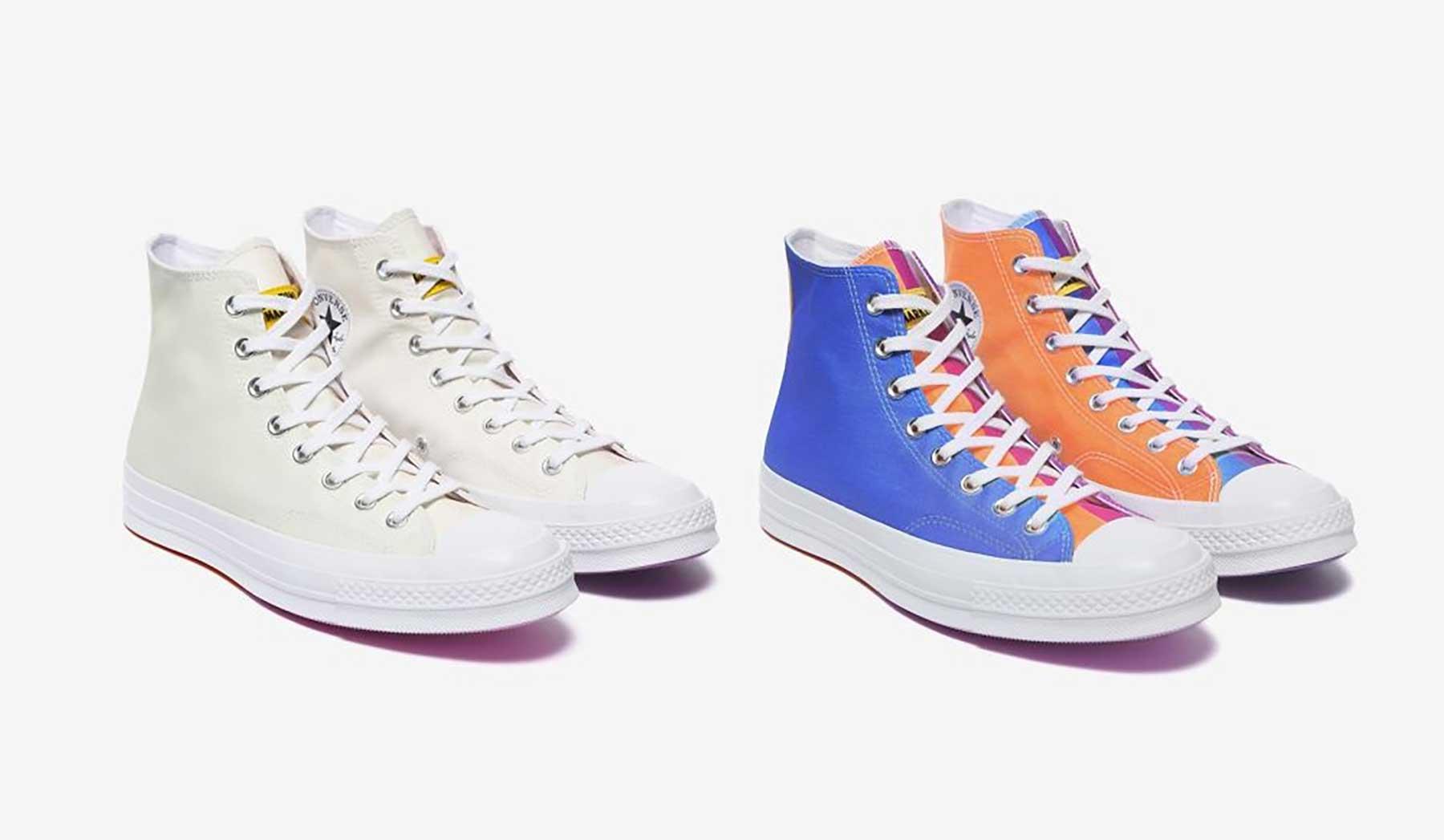 Diese Sneaker ändern ihre Farbe bei Sonnenlicht-Einstrahlung