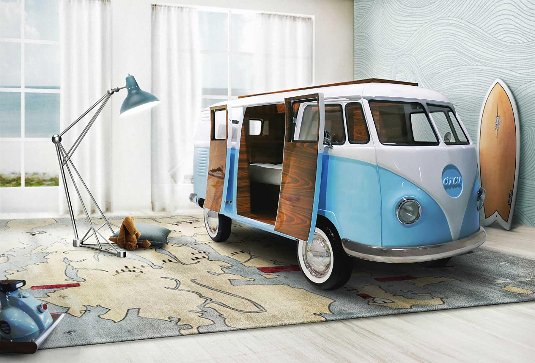 VW Bulli Bett