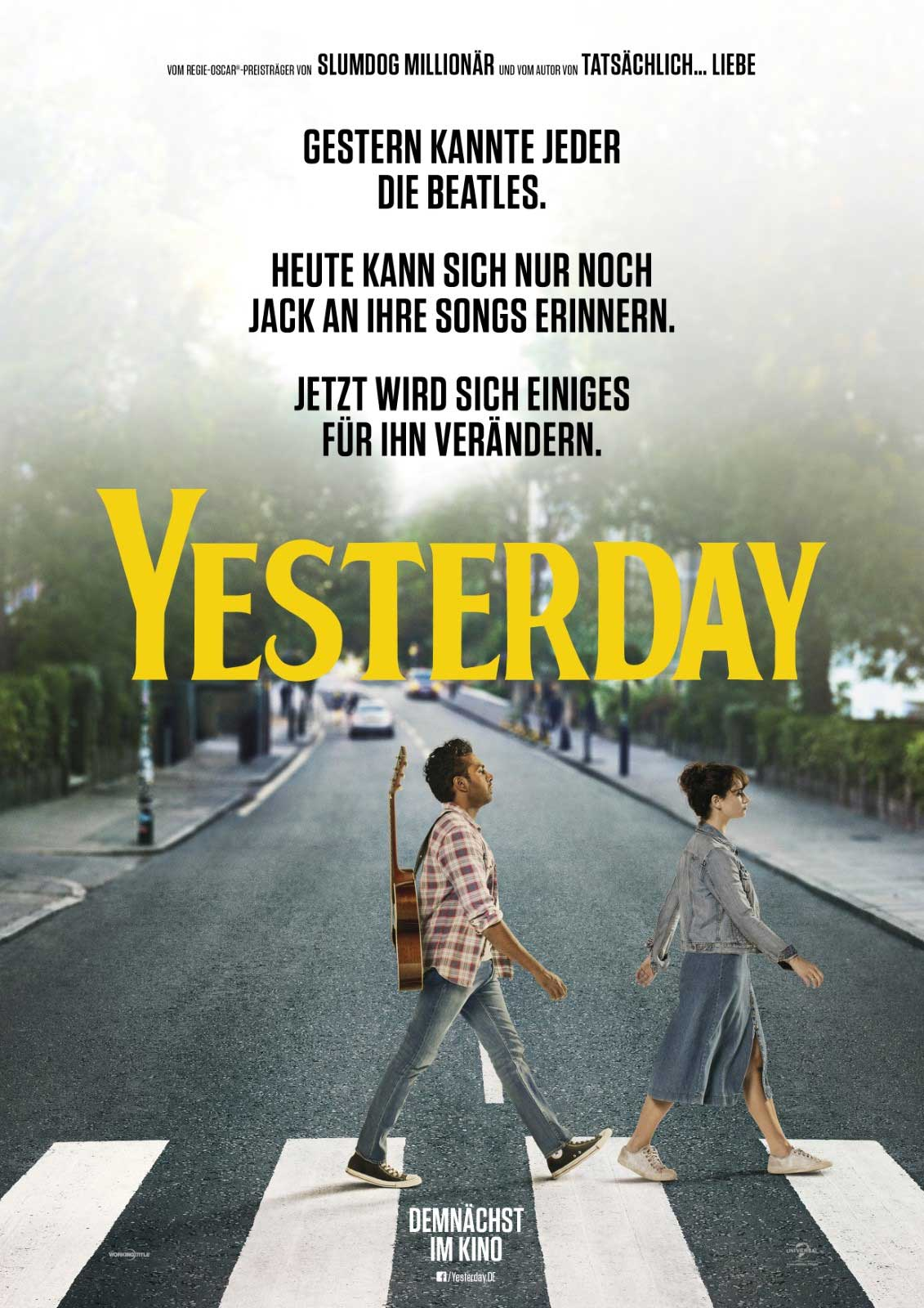Film-Review: Yesterday Yesterday-filmplakat