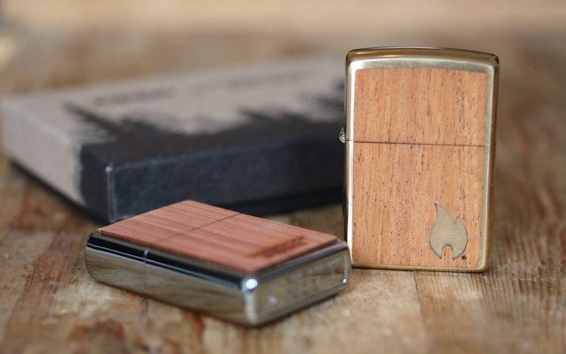 Echtholz trifft Feuerzeug: Die Zippo x Woodchuck-Kollektion