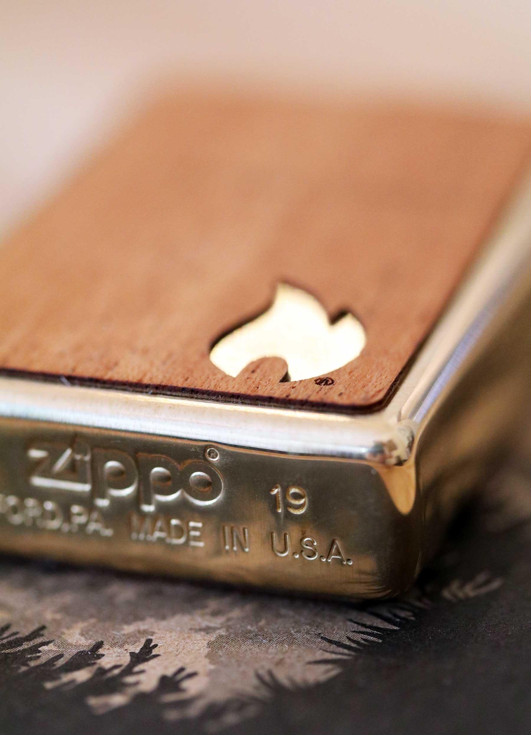 Echtholz trifft Feuerzeug: Die Zippo x Woodchuck-Kollektion Zippo-Woodchuck-Kollektion_03