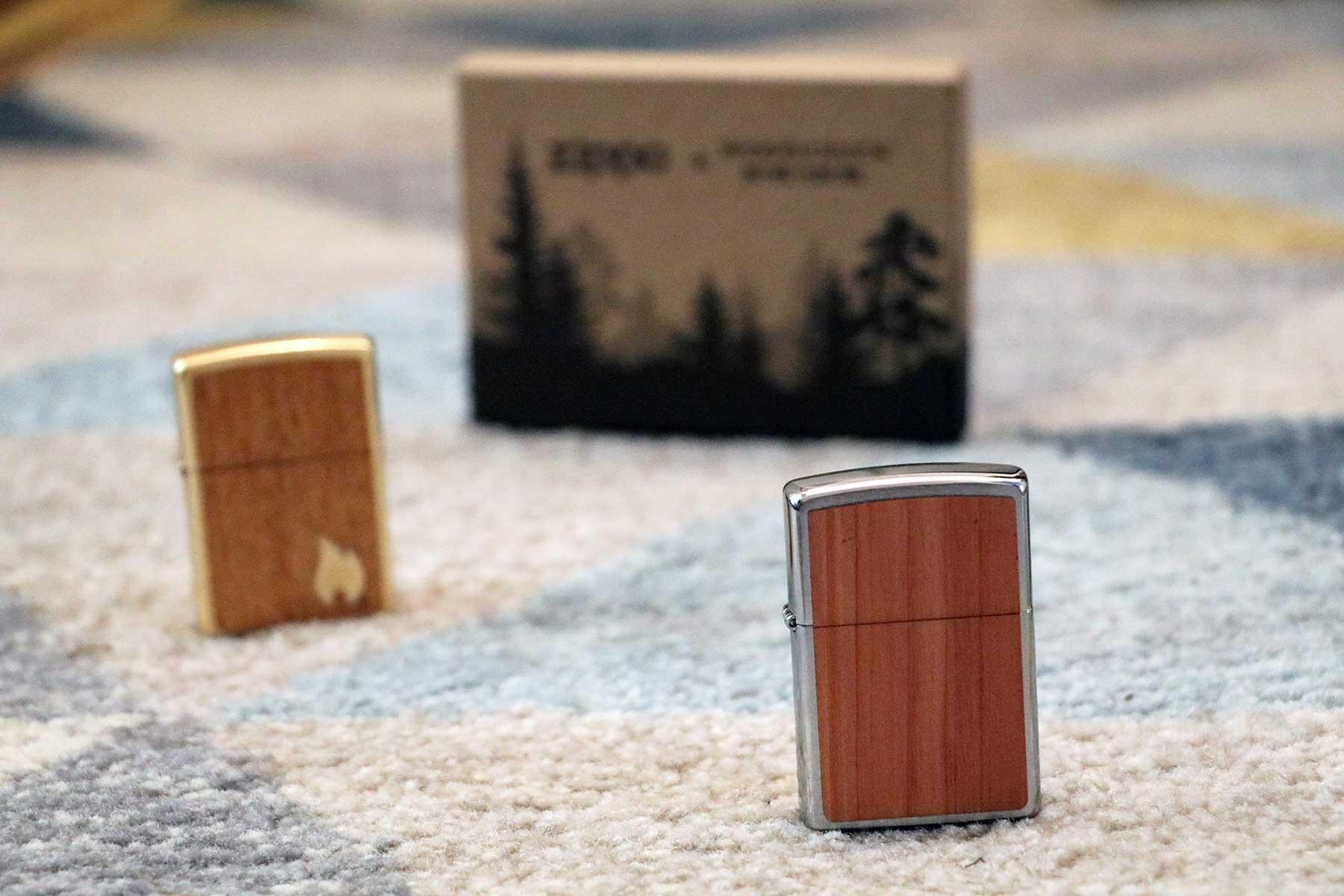 Echtholz trifft Feuerzeug: Die Zippo x Woodchuck-Kollektion Zippo-Woodchuck-Kollektion_07