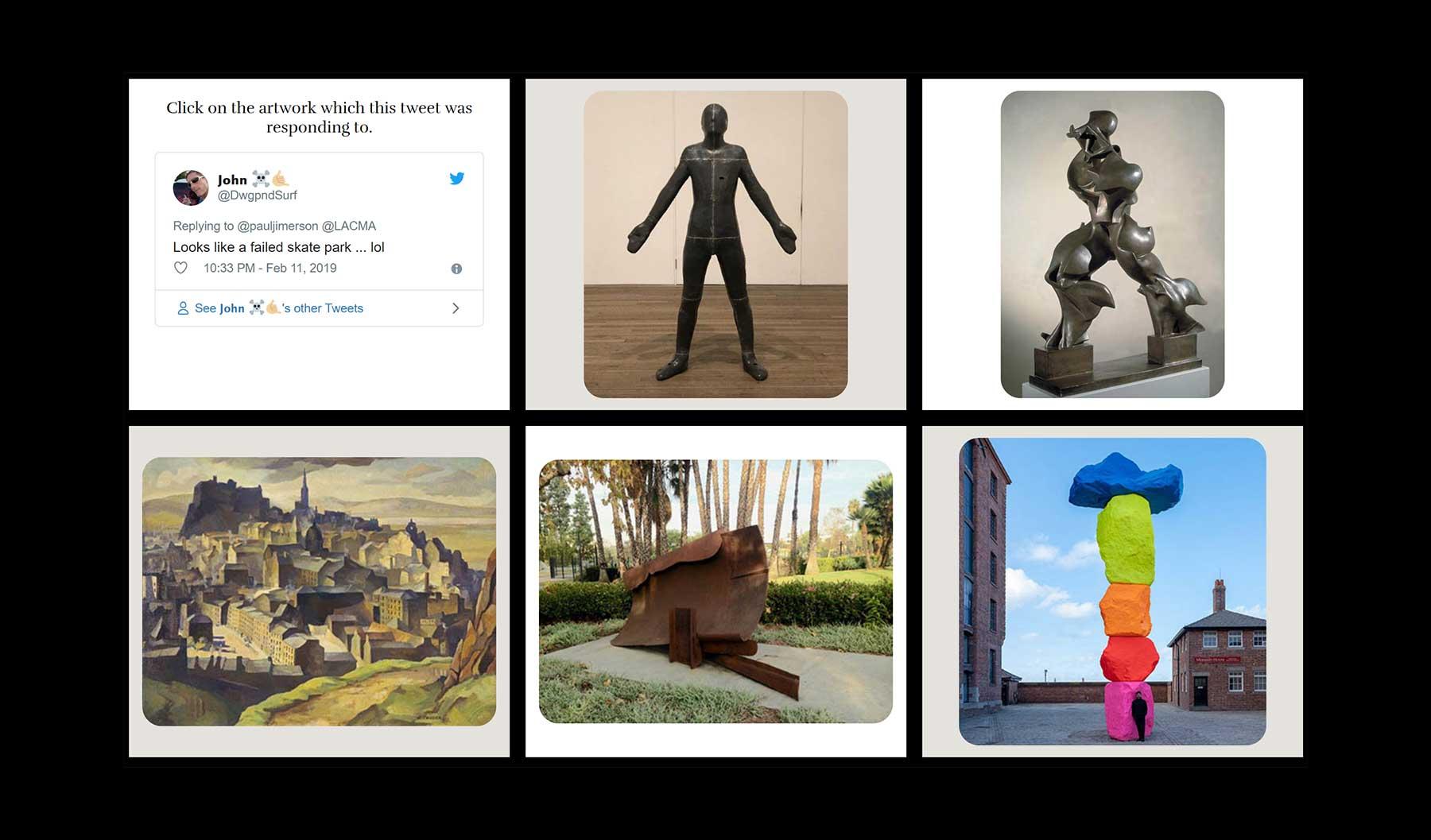 Könnt ihr Kunstwerke anhand eines Twitter-Kommentars erkennen?