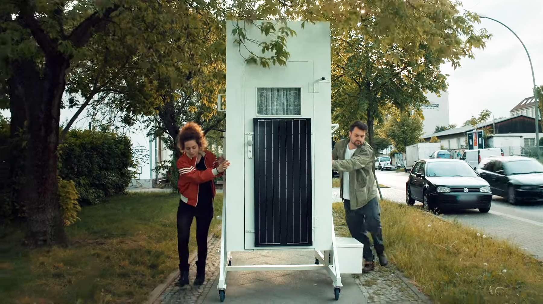 Ein-Quadratmeter-Haus gegen den Mietwahn