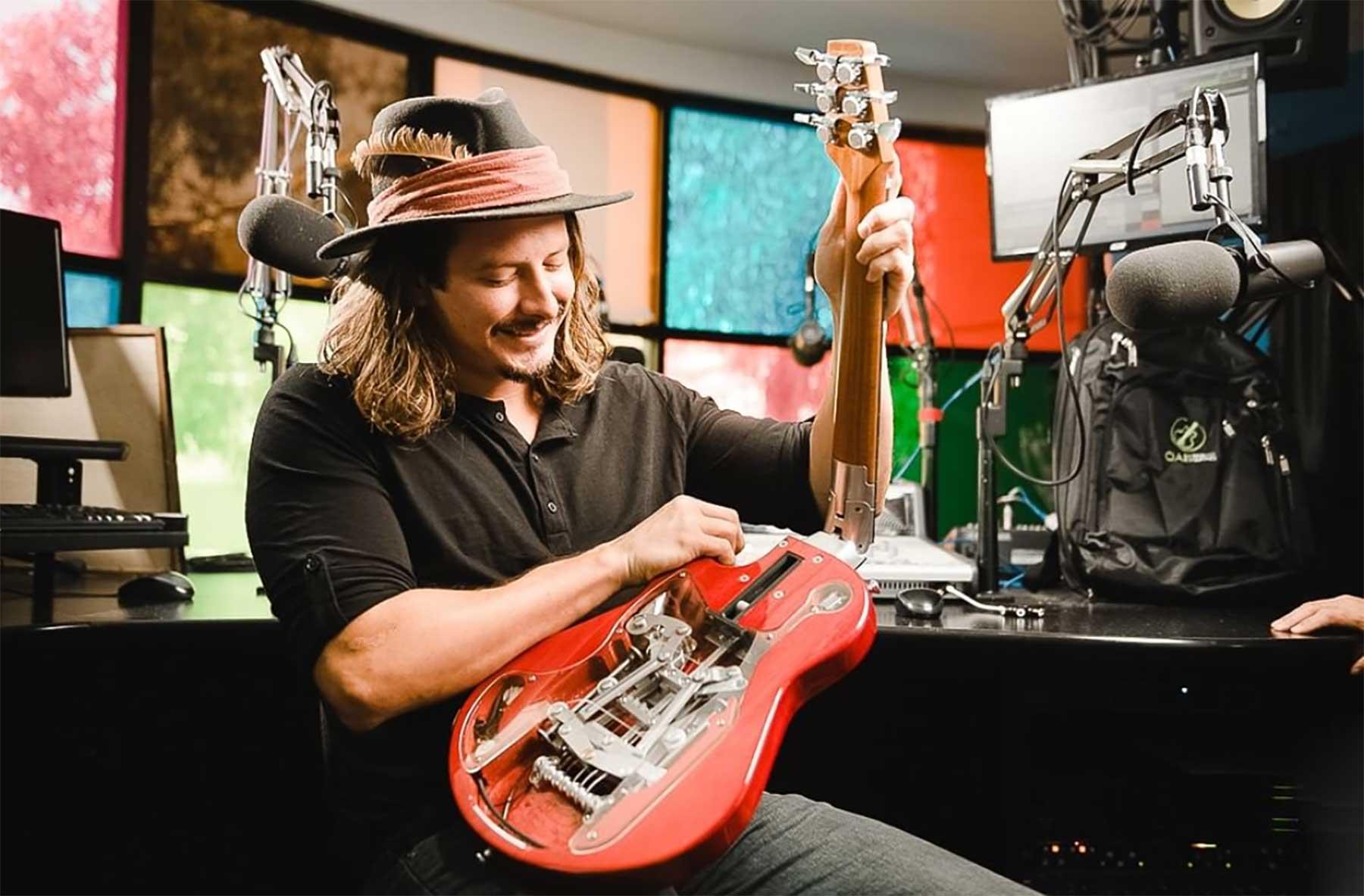 Faltbare E-Gitarre