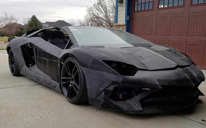 3D-gedruckter Lamborghini Aventador