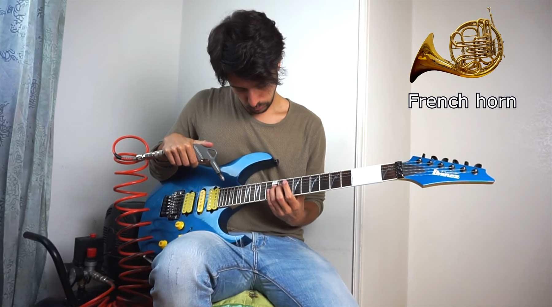 Luft + Gitarre = Trompete, Klarinette und andere Instrumente luft-gitarre-andere-instrumente-spielen
