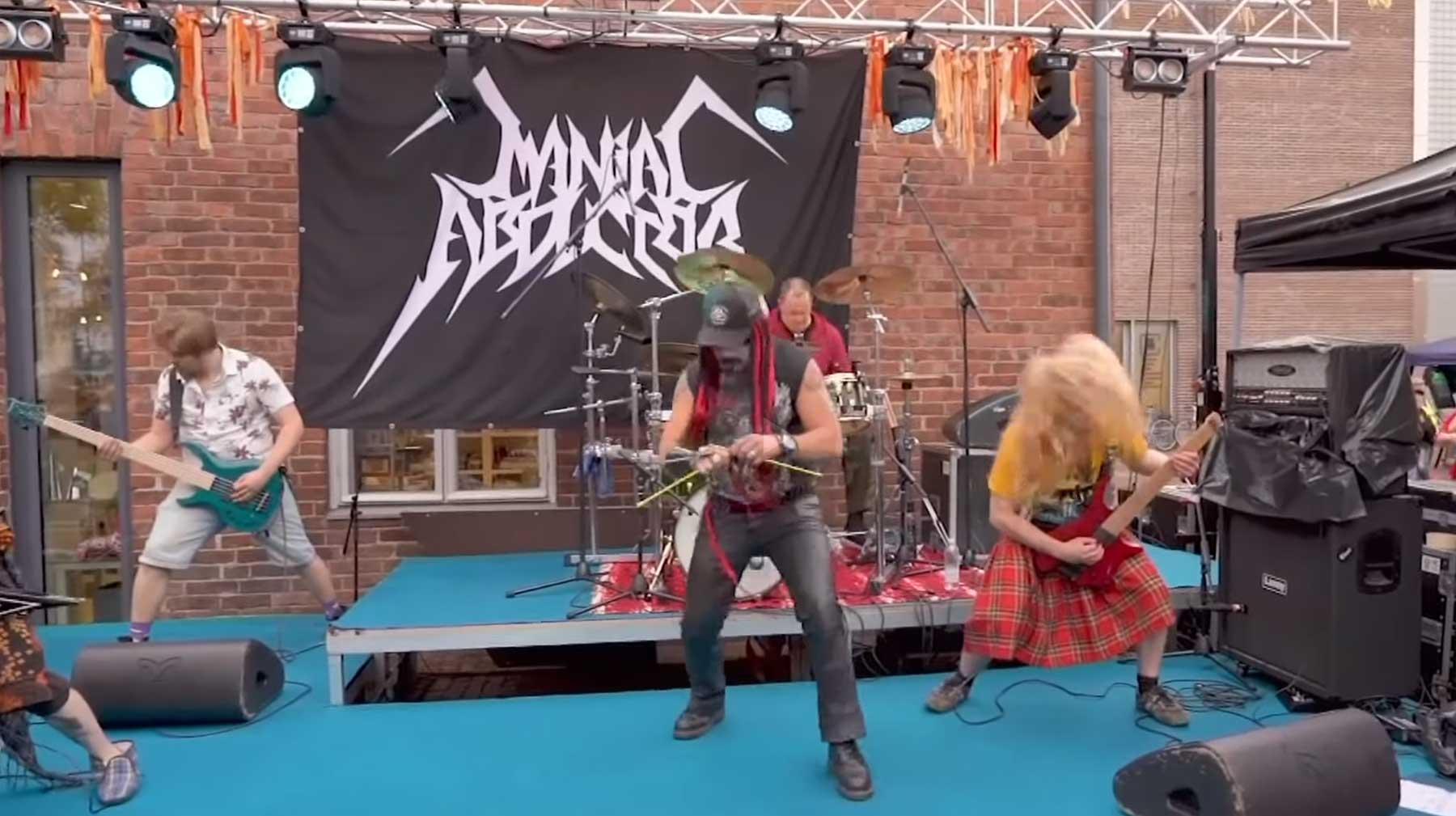 Weltmeisterschaft im Heavy Metal-Stricken