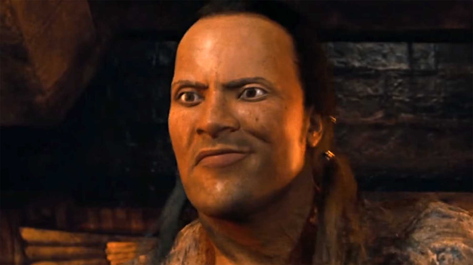 "Ein Versuch, die The Rock-Animation in ""The Scorpion King"" zu verbessern"