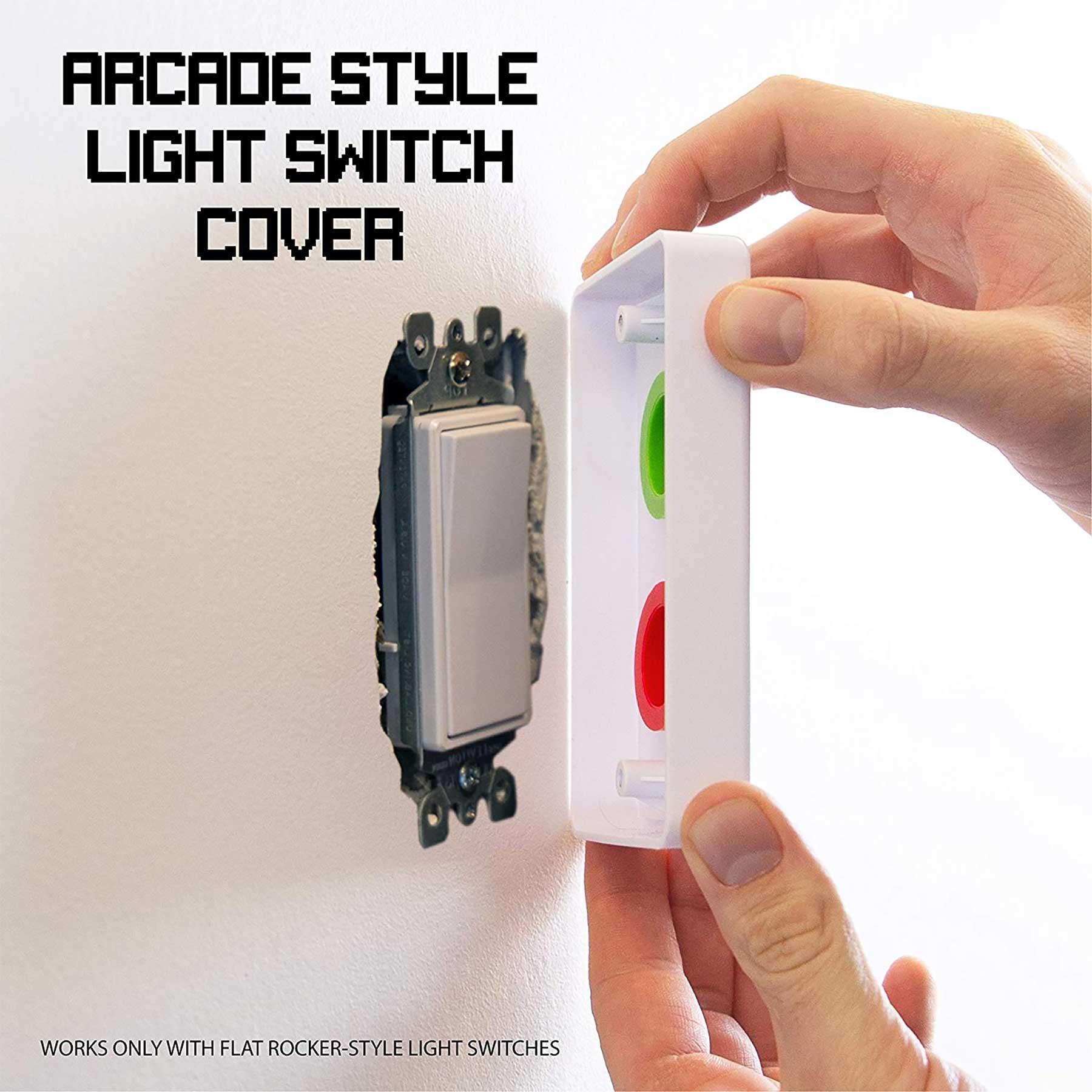 Dieses Verkleidung macht Arcade Buttons aus Lichtschaltern Arcade-buttons-lichtschalterverkleidung_02