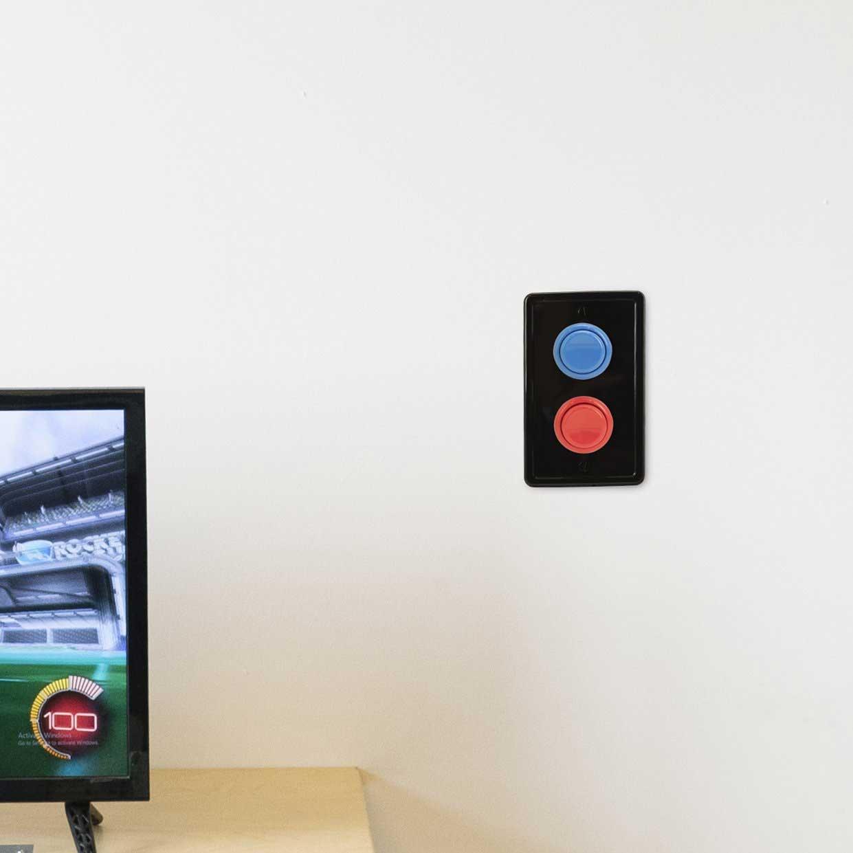 Dieses Verkleidung macht Arcade Buttons aus Lichtschaltern Arcade-buttons-lichtschalterverkleidung_03