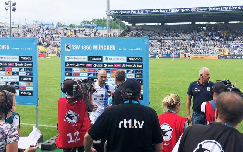 """Gedanken einer 17-Jährigen: """"Live-Bloggen"""" im Löwenstadion"""