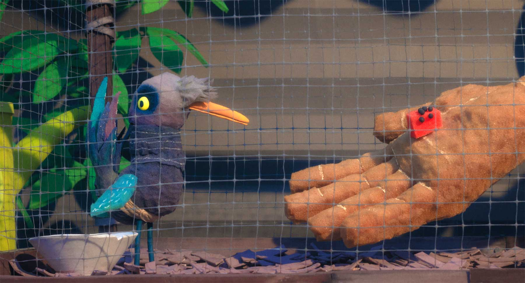 "Kunstvoller Stopmotion-Kurzfilm: ""Birdlime"""