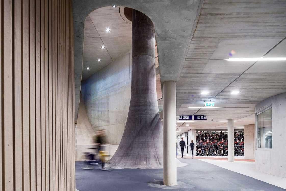 In Utrecht steht die größte Fahrrad-Garage der Welt