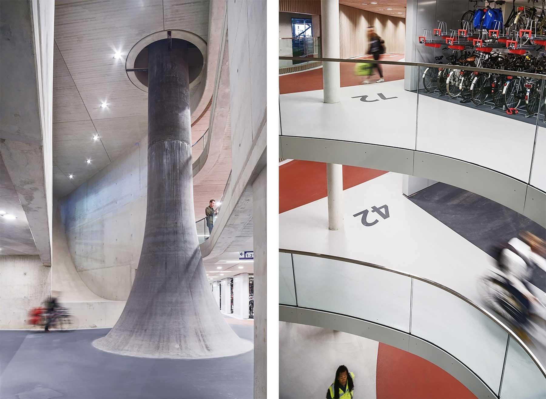 In Utrecht steht die größte Fahrrad-Garage der Welt Fahrradgarage-utrecht_06