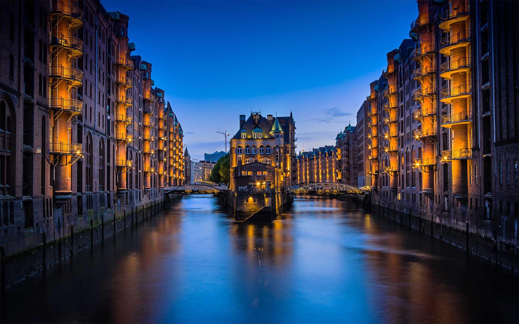 Ist Hamburg die beste Stadt Deutschlands? Hamburg-speicherstadt