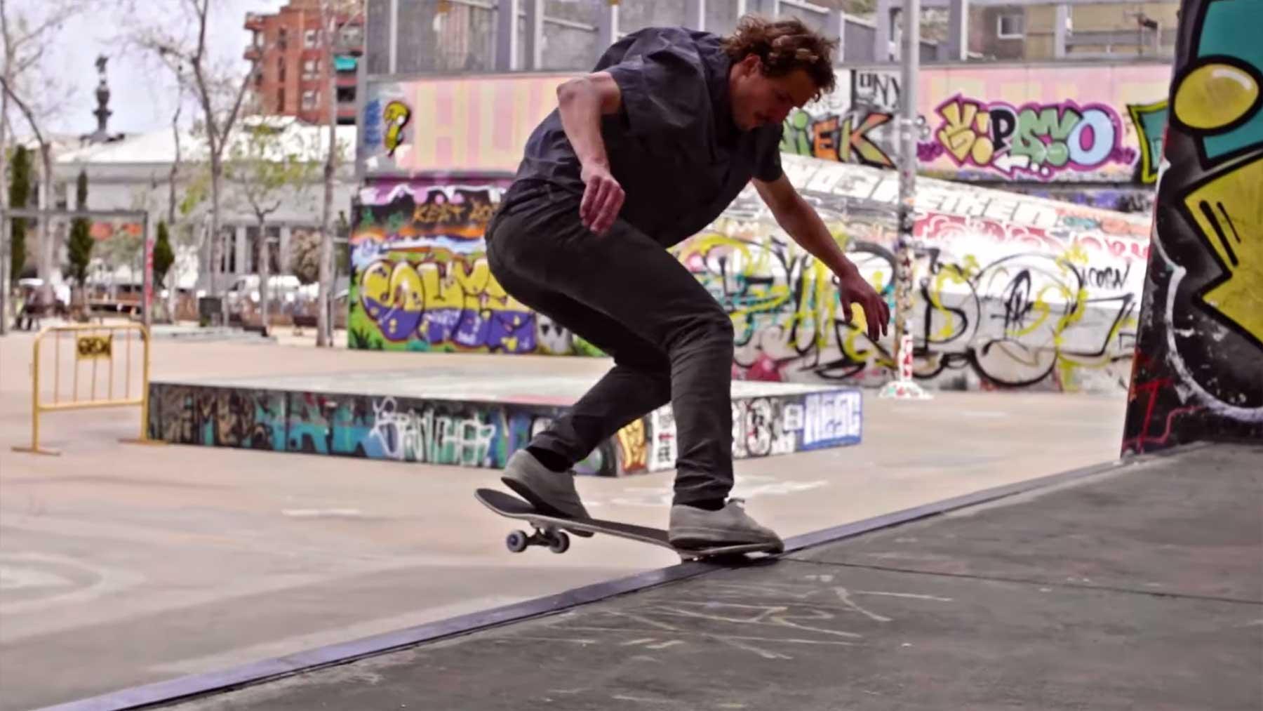 """Skateboarding: """"InFrames Barcelona"""""""