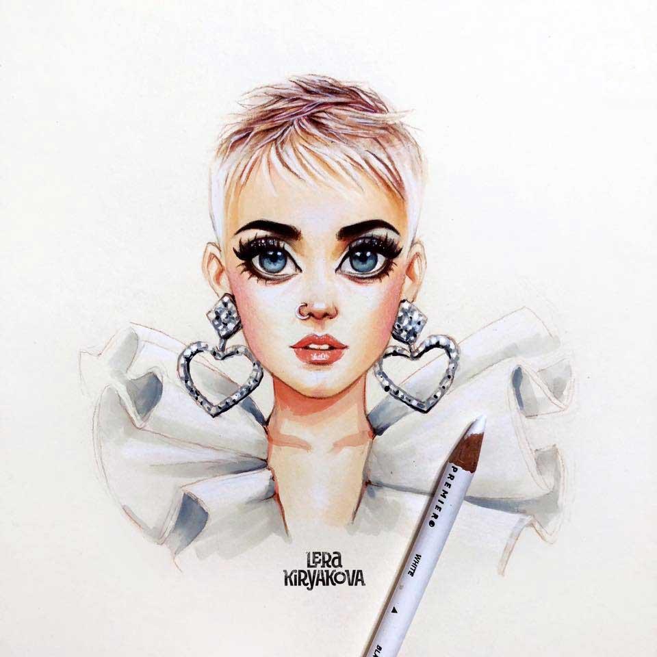 Neue süße Promi-Portraits von Lera Kiryakova Lera-Kiryakova-2019_06
