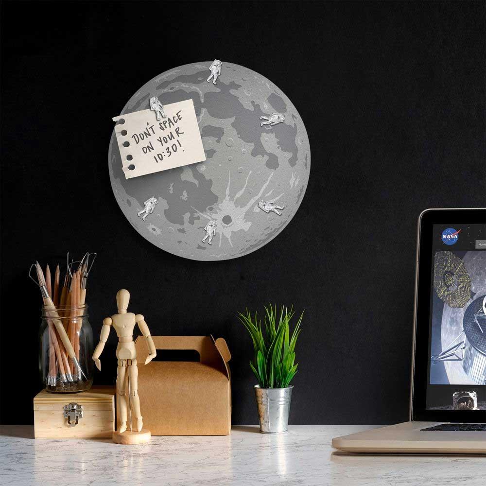 Mond-Puzzle & -Pinnwand Mondpinnwand_01