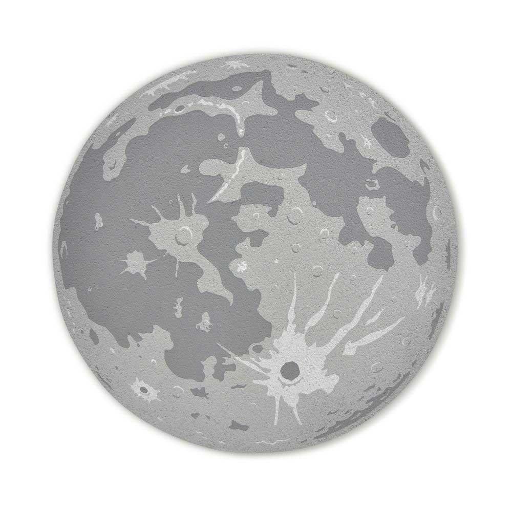 Mond-Puzzle & -Pinnwand Mondpinnwand_04