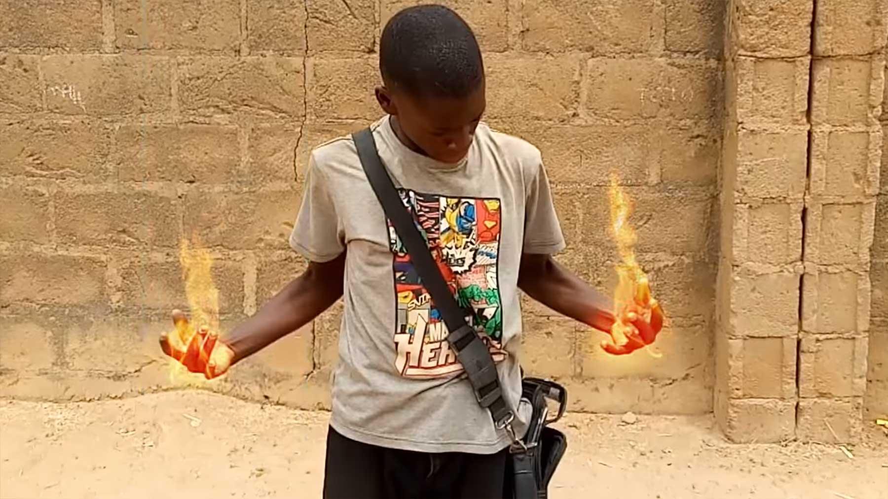 Jung-Filmemacher aus Nigeria verblüffen mit Smartphone-Kurzfilmen