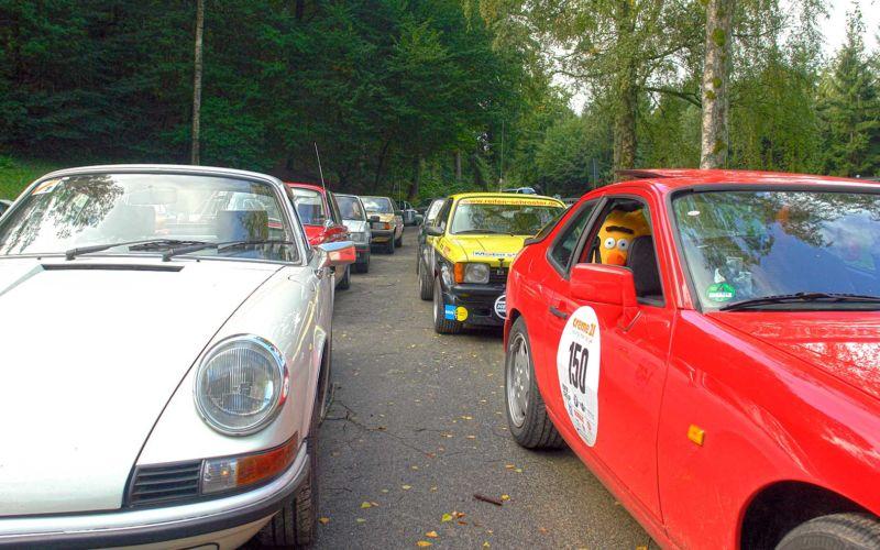 Ich gehe bei der Creme21 Youngtimer Rallye an den Start