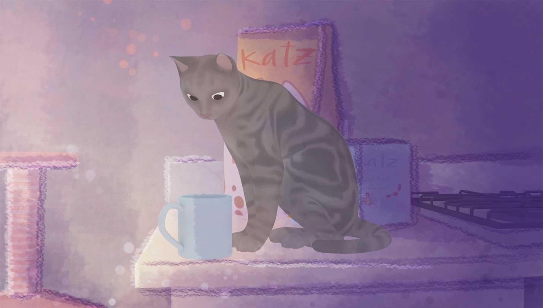 Über die Schwierigkeit, die Liebe einer Katze zu verdienen love-me-please_kurzfilm